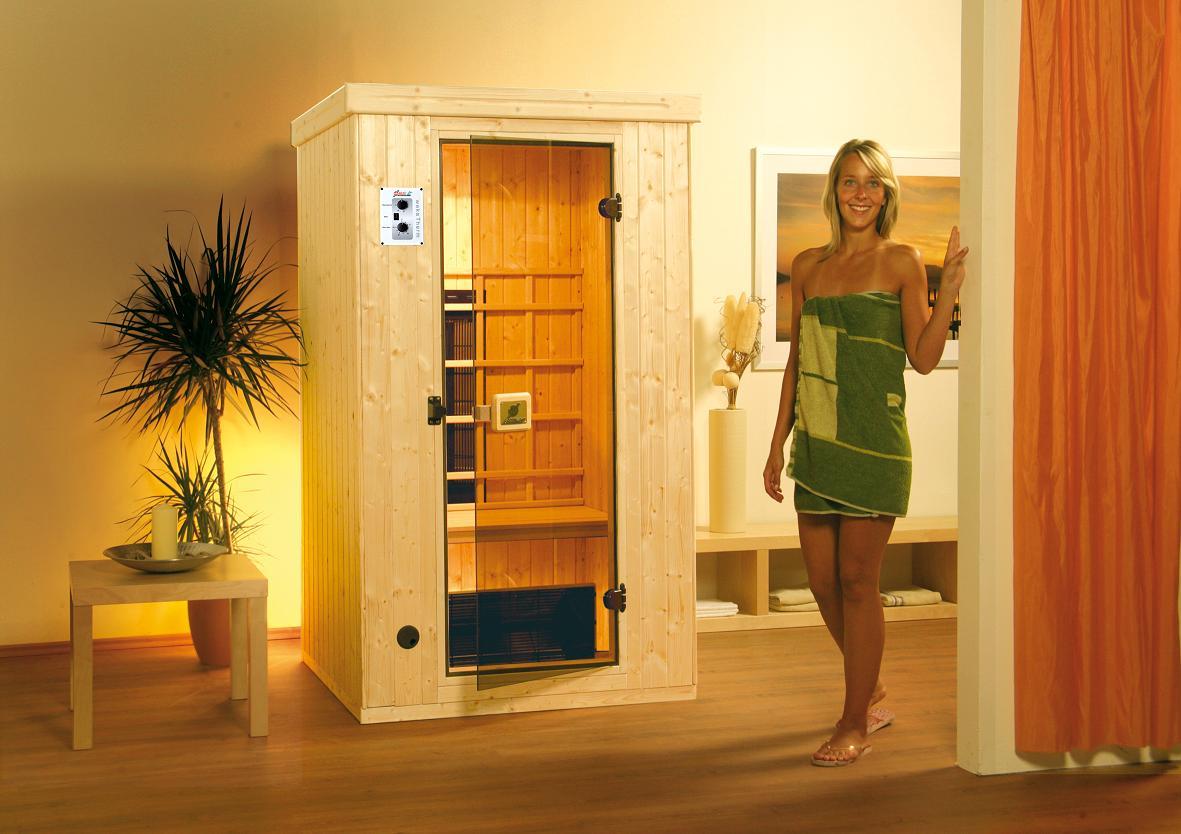 wellness zuhause weka infrarotwaermekabine. Black Bedroom Furniture Sets. Home Design Ideas